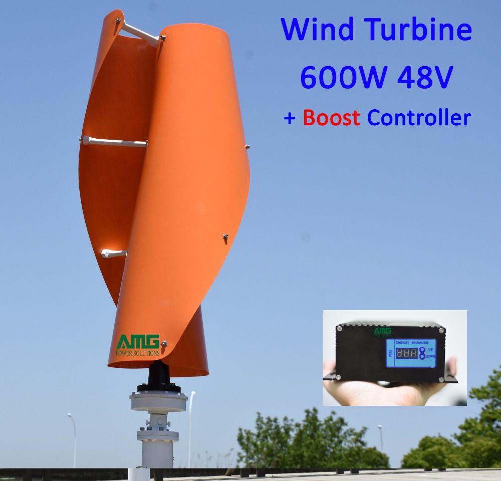 400W500W600W 48 V VAWT Vertikale Achse Wohn heimgebrauch Windenergieanlage + 600 Watt Wind 300 Watt Solar Hybrid ladegerät Controller