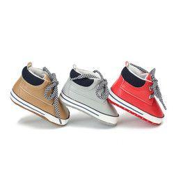 Nouvelle Arrivée 2018 Enfant En Bas Âge Bébé Chaussures PU En Cuir Garçon Et Filles Loisirs Sport Chaussures Printemps Automne Infantile Chaussures Premiers Marcheurs