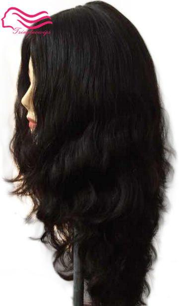 Finest European virgin hair slight wave jewish wig , silk top kosher wig Best Sheitels free shipping