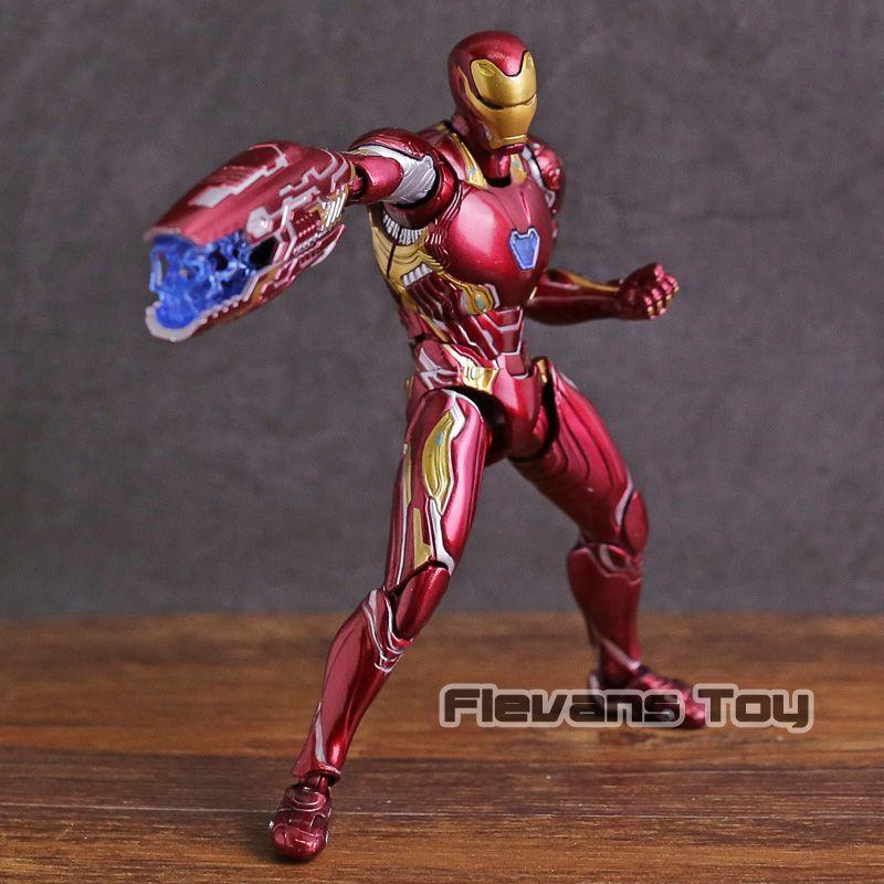 SHF SHFiguarts Iron Man MK 50 Mark XLX PVC Action Figure Collectible Model Toy