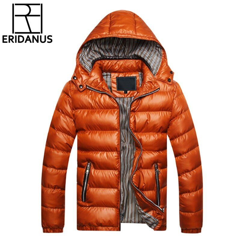 2017 Winter Jacket Men Coat Slim Sportswear Outwear Chaquetas Hombre Parka Mens Coats Jackets Warm Thick Asian Size M-3XL X301