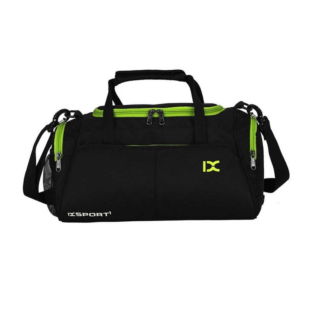 Large Capacity Outdoor Sports Bag Traveling Luggage Handbags Shoulder Bag Waterproof Polyester For Fitness Training Gym Yoga