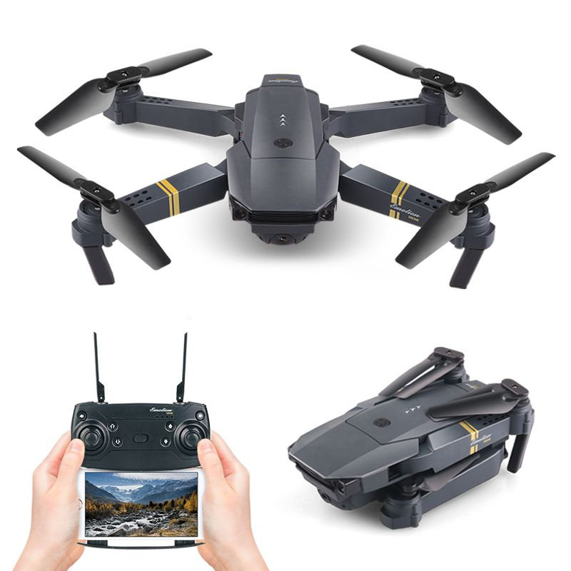 Selfie Drone Foldable Mini Altitude High Hold WIFI FPV Wide Angle HD Camera Helicopter Folding RC Quadcopter Headless VS X12 H47
