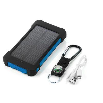 Waterproof Solar Power Bank Real 20000 mAh Dual USB External Polymer Battery Charger Outdoor Light Lamp Powerbank Ferisi