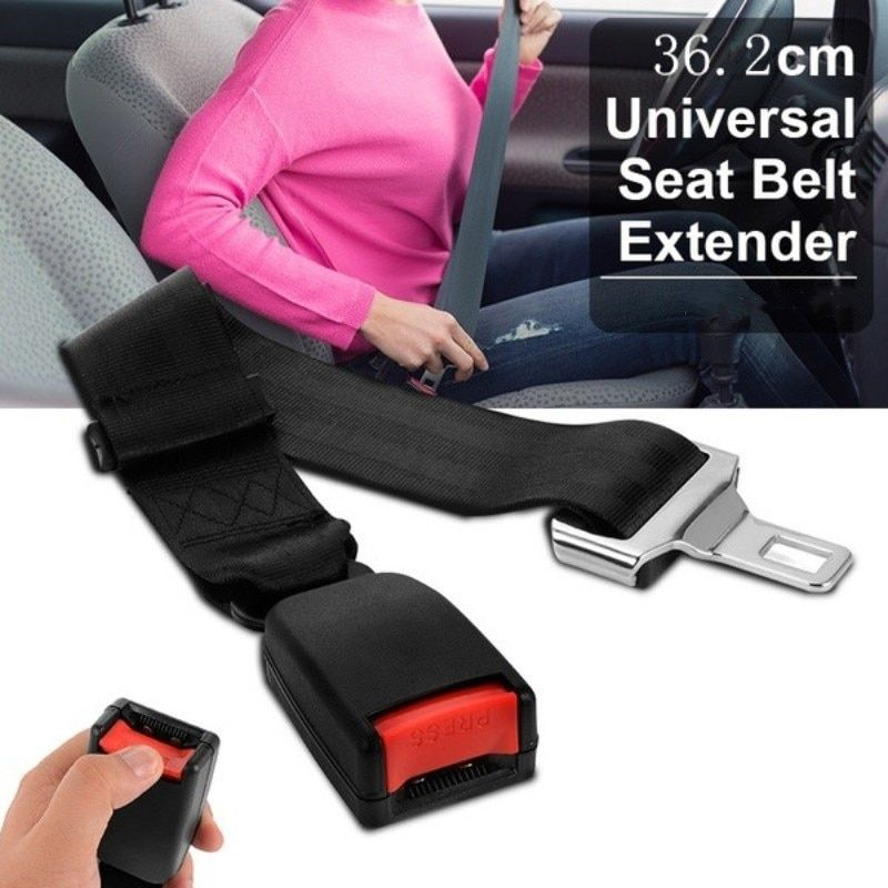 Hot Sale Seat Belt Extension Universal Car Auto Seat Belt Safety Belt Extender Extension Buckle Seat Belts & Padding Extender