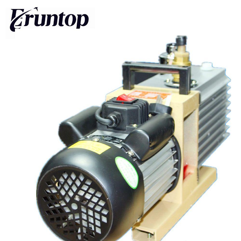 Eruntop Drehschieberpumpe 8CFM 220 v/50 hz 2XZ-4 Liter Doppel-bühne Saug Spezialisiert Für KO TBK OCA Laminieren Maschine