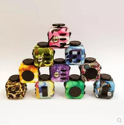 3535 ToalyPluzzle Cube camouflage stress compressive stress cube anxiety fidget dice cube toy artifact finger cube 43cm and 39cm