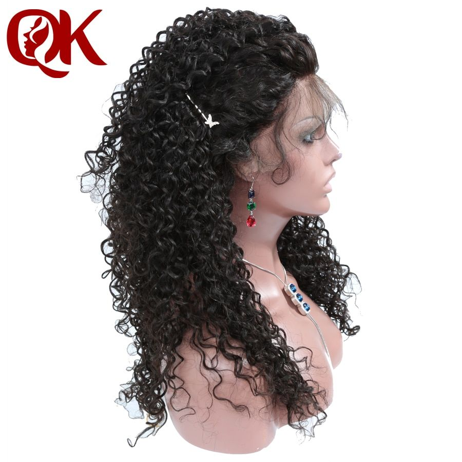 QueenKing hair 180% Density Full Lace human hair Wigs for Women Natural Color Curly Free Overnight Shipping Brazilian Remy Hair