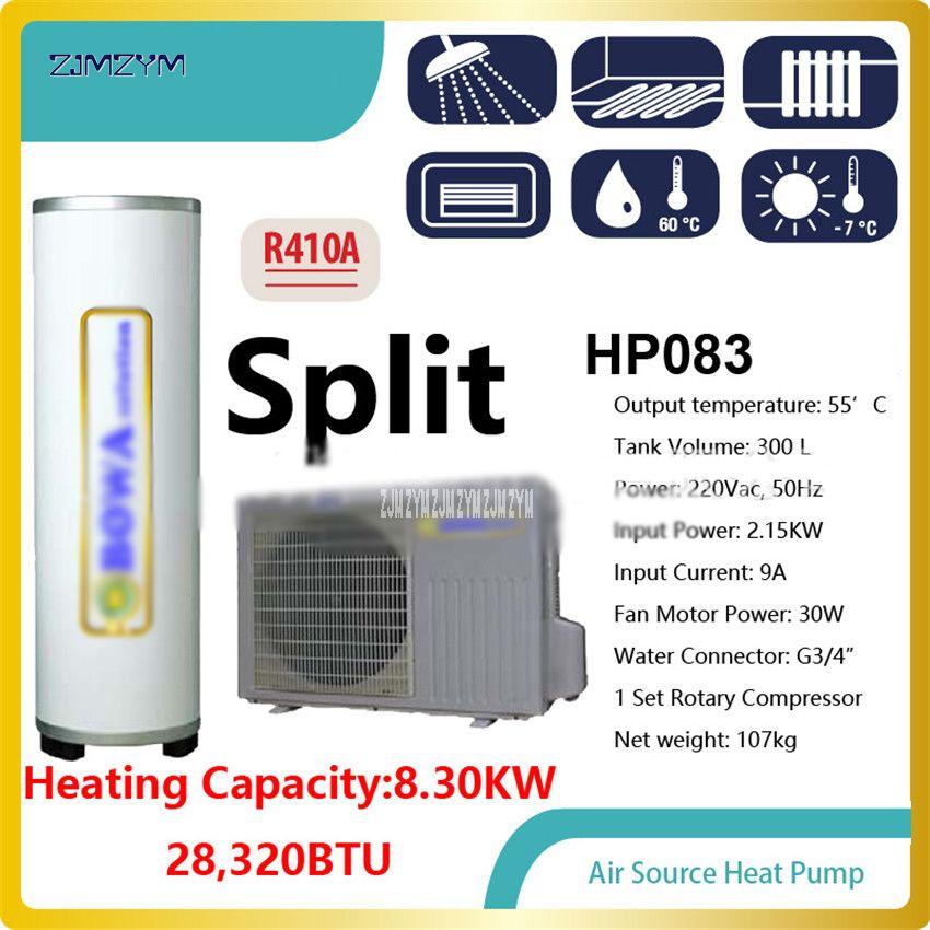 Wärmepumpe Wasser Heizungen HP083 28, 000BTU integrierte Hallo-COP luft quelle wärmepumpe wasser heizung ohne wasser tank, 8300 W Power
