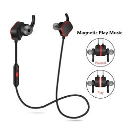 Magnetic Suction Switch Wireless Bluetooth Earphones Stereo Headset Sweatproof Sports Earphone for Starmobile Up Rave Sense