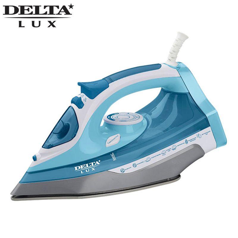 DL-712 Dampf Eisen 2400 W Überhitzung schutz Keramik bügelsohle Trockenen/Dampf bügeln Dampf boost taste DELTA