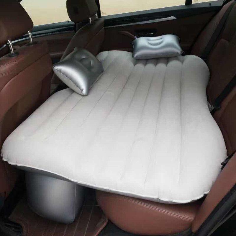 Lit de voyage de voiture Camping canapé gonflable automobile matelas pneumatique siège arrière repos coussin repos coussin de couchage sans pompe accessoires