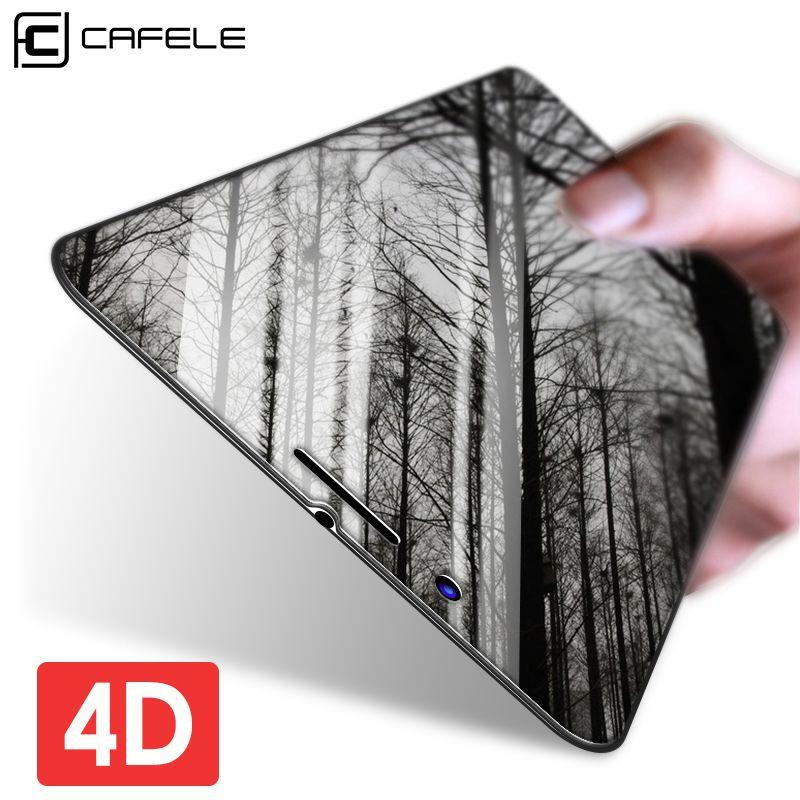 CAFELE 4D Bord Incurvé Ultra Mince En Verre Trempé pour iphone 7 Transparent Pleine Couverture Protecteur D'écran pour iphone 7 Plus Film