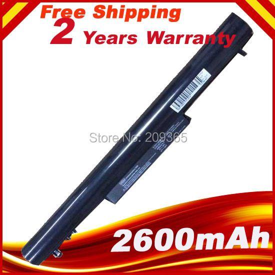 2600 m nueva batería para hp pavilion sleekbook 14 15 hstnn-yb4d vk04 695192-001