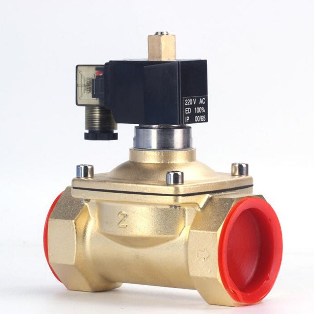 IP65, high temperature normally open solenoid valve, 220VAC 24VDC,EPDM VITON seal,DN15 20 25 32 40 50K,for Water and oil use