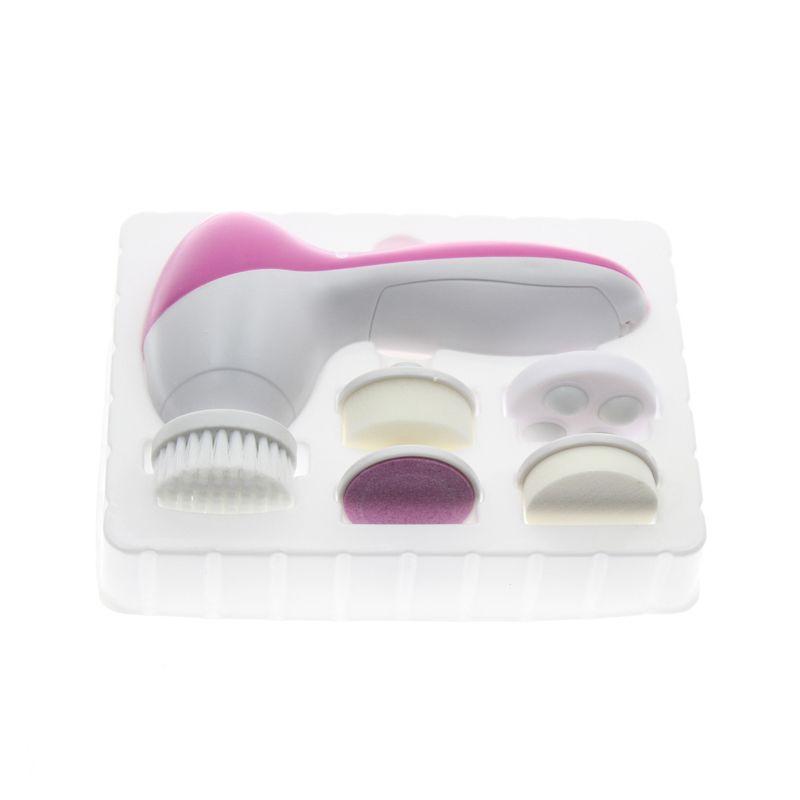 5 en 1 électrique corps visage soins de la peau lavage brosse nettoyant ensemble outil produit nettoyant pour le visage gommage propre SPA beauté masseur