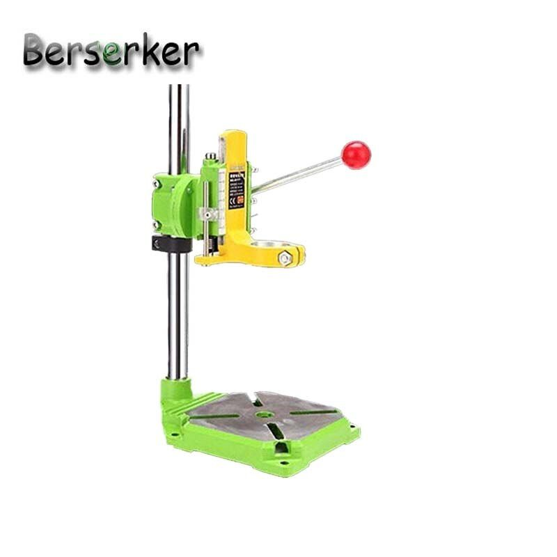 Berserker bohrständer bohrer halter clamp presse stand winkel einstellen für bohren Eisen basis BG-6117 Kostenloser Versand