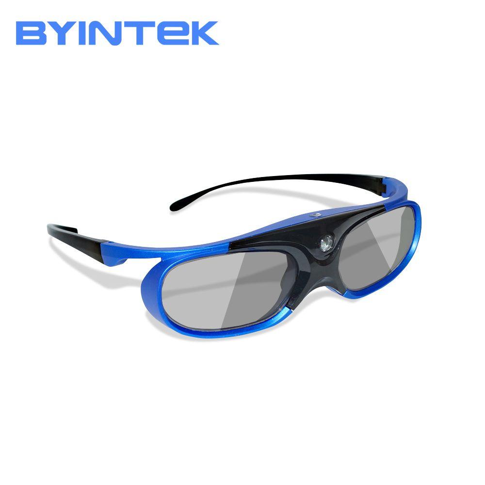 Active DLP 3D Glasses for BYINTEK DLP 3D Projector UFO R15 R11 R9