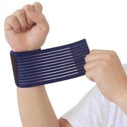 NEUE Outdoor Sport Elastische Bandage Hand Sport Armband Gym Unterstützung Handgelenk Klammer Wrap Fitness Tennis Polsini Schweißband Munhequeira