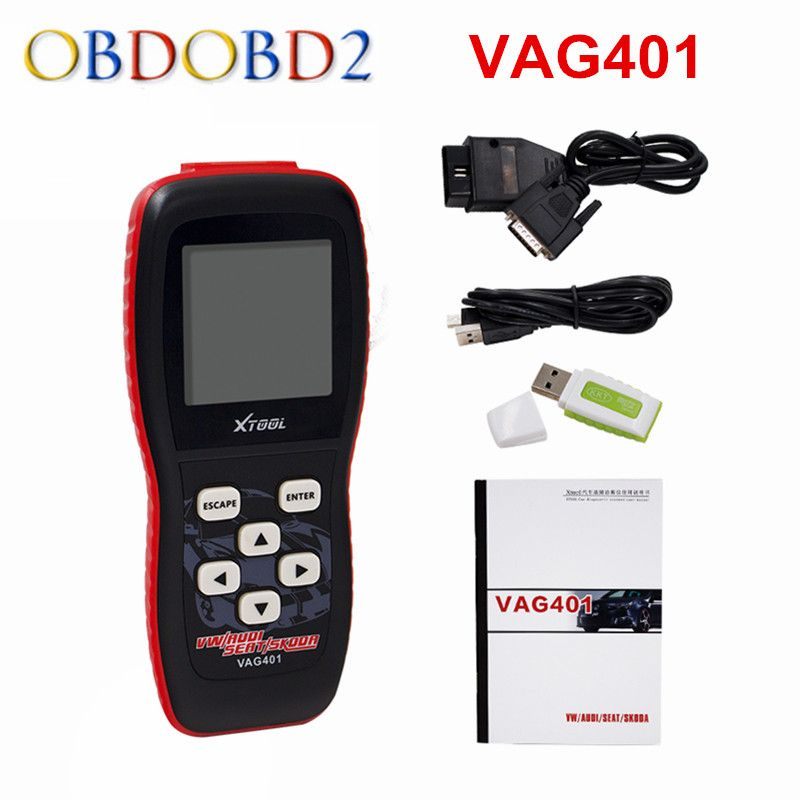 100% Original XTOOL VAG401 For AUDI/VW/SEAT/SKODA VAG 401 Auto diagnostic Scanner Free Update Online Free Shipping