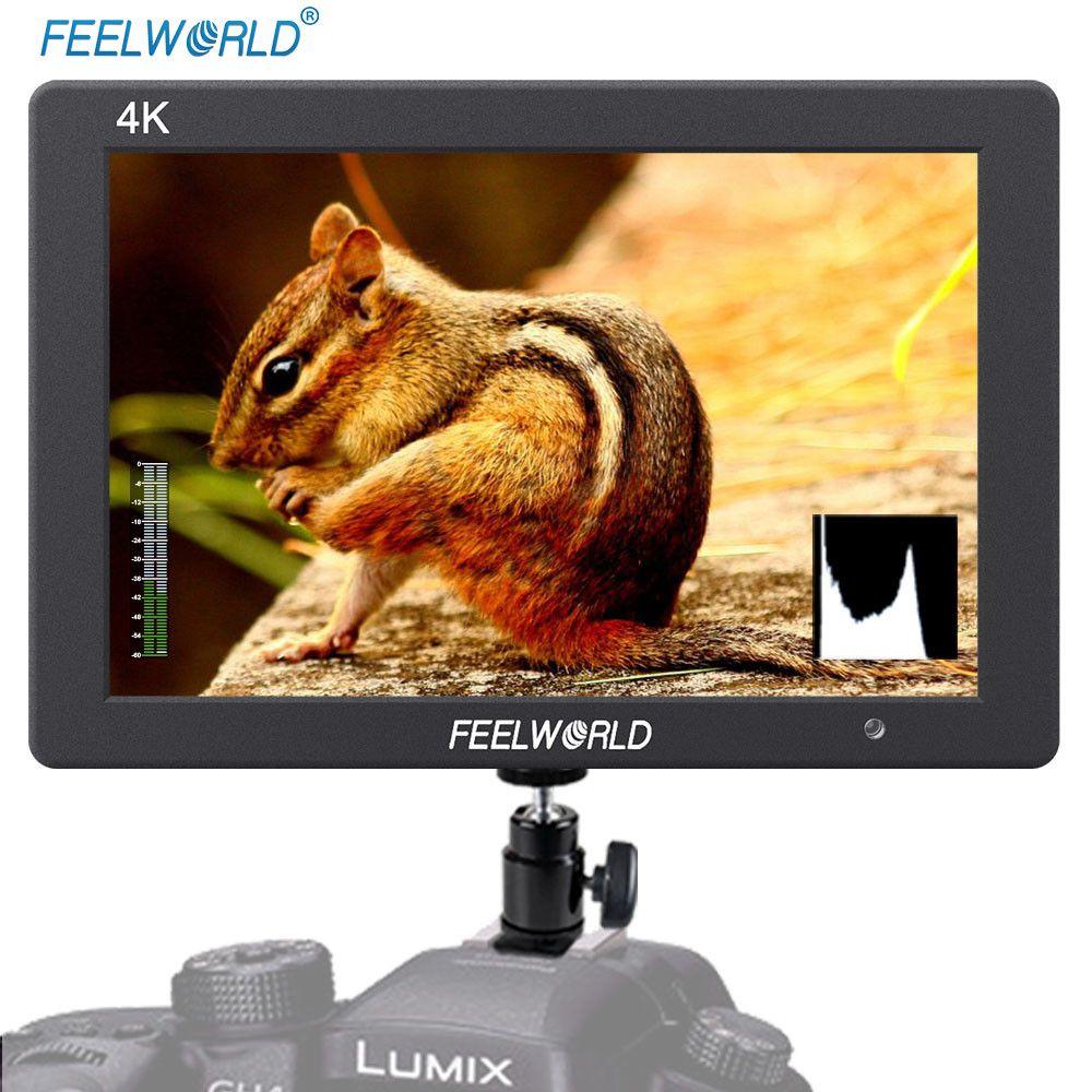 FEELWORLD T7 7 Zoll IPS 4 Karat HDMI Monitor 1920x1200 Massivem Aluminium Gehäuse Kamera Feld-monitor mit Peaking fokus Falsche Farben