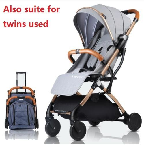 Mini Baby Stroller Portable Folding Pram Light Baby Carriage Suit for Lying and Seating In 2018 New Item