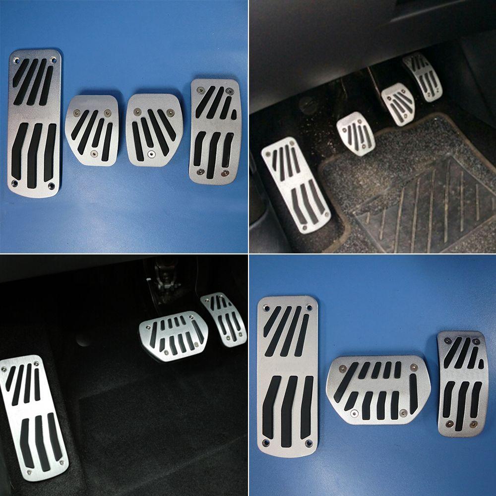TTCR-II accessoires de voiture pour Peugeot 2008 207 CC SW GTI/RC 208 GTI 308CC AT/MT pédales d'embrayage de frein à gaz Pad autocollants modifiés
