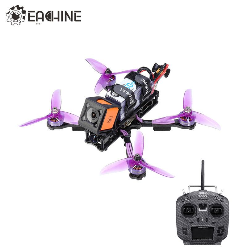 Eachine Wizard X220HV 6S RC FPV Racing Drone F4 OSD 600mW Foxeer Kamera w/Jumper T8SG V2.0 plus Sender Mode2 RC Quadcopter