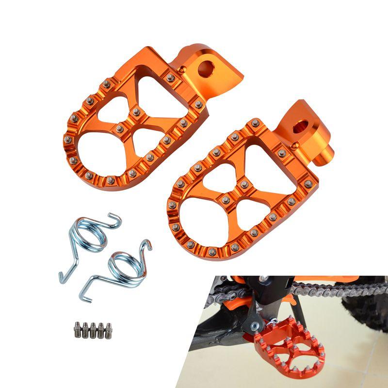 De Course MX Repose-pieds Reste Pédales Repose-pieds Repose-pieds Pour KTM EXC SX SX-F XC-F EXC-F 65 85 125 200 250 300 350 400 450 525 530 Etc