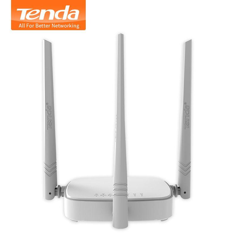 Tenda N318 300Mbps Wireless WiFi Router Wi-Fi Repeater,Multi <font><b>Language</b></font> Firmware,Router/WISP/Repeater/AP model,1WAN+3LAN RJ45 Port