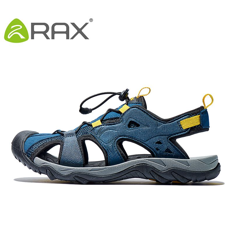 RAX Mens Sports Sandals <font><b>Summer</b></font> Outdoor Beach Sandals Men Aqua Trekking Water shoes Men Upstream Shoes Women Quick-drying Shoes