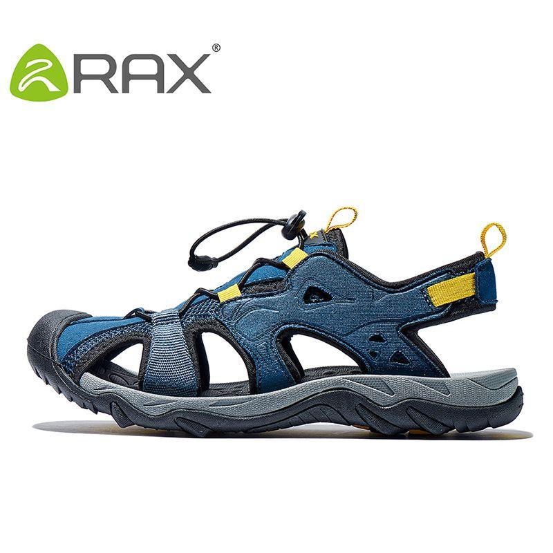 RAX hommes sport sandales été extérieur plage sandales hommes Aqua Trekking chaussures d'eau hommes en amont chaussures femmes à séchage rapide chaussures