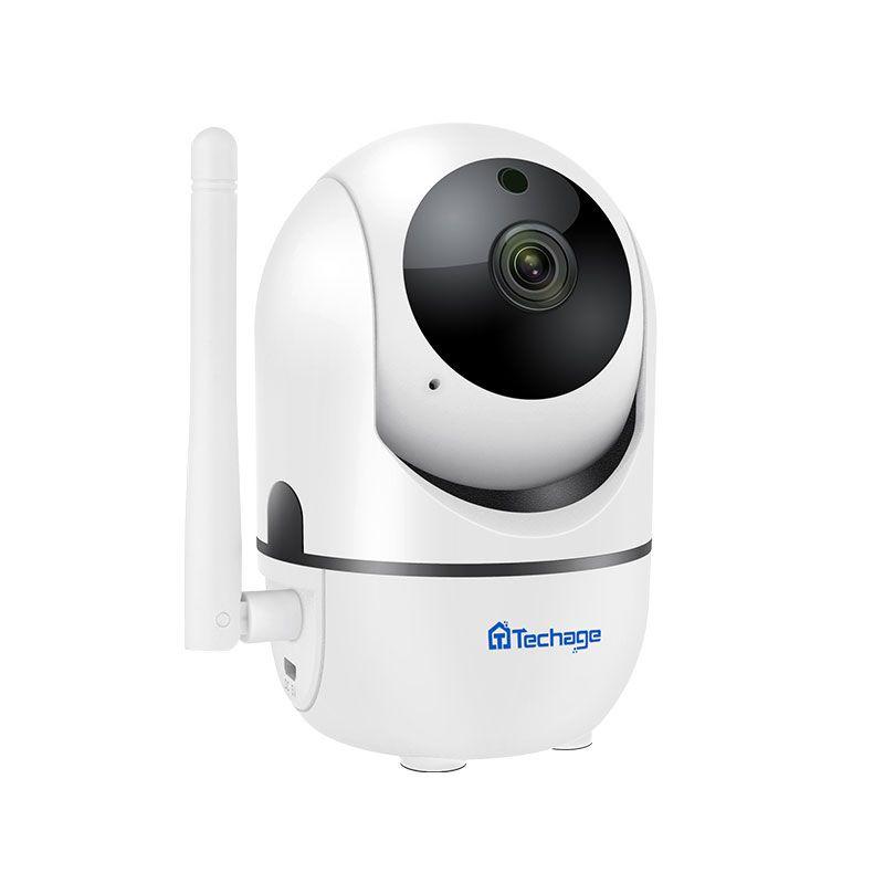 Techage 1080P 720P Wireless Auto Tracking Camera 2 Way Audio Sound IP Camera SD Card Record Baby Pet Monitor Surveillance YCC365