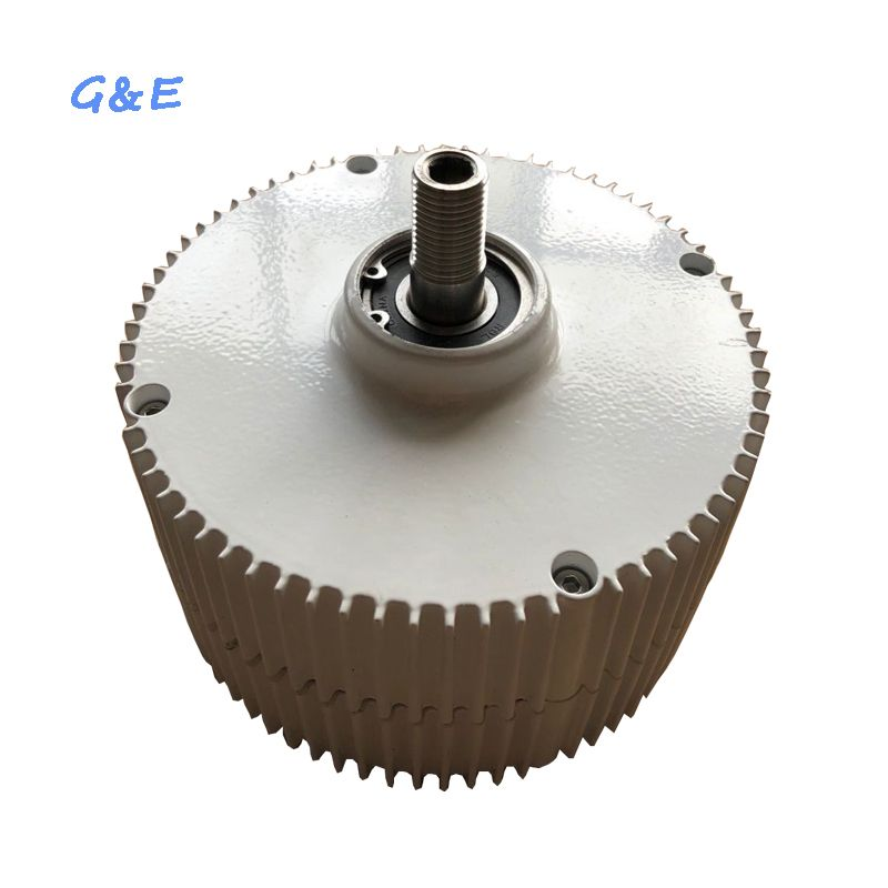 Three Phase Permanent Magnet Generator 300W 12V 24V 48V Alternator With DC Waterproof Controller