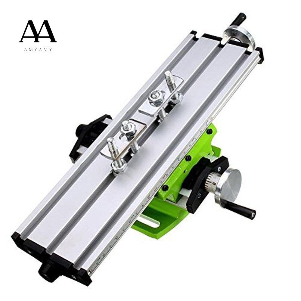 AMYAMY Worktable Working Cross Table Milling Machine Compound Drilling Slide Table For Bench Drill Multifunction Adjustable X-Y