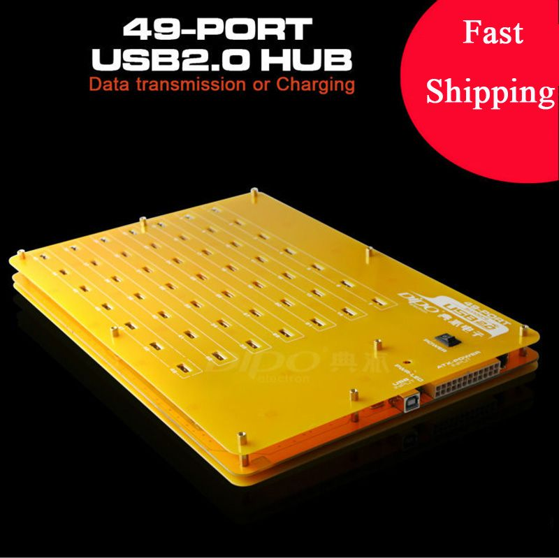High speed Eyeboot 49 Port Powered USB 2.0 Hub Bitcoin Litecoin mining Industrial grade for Tablet PC,Mobile