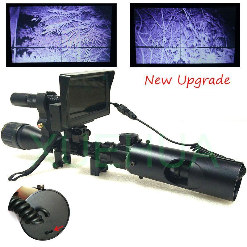 Upgrade Jagd Optics Anblick Taktische digitale infrarot-nachtsicht-teleskop fernglas mit LCD verwenden in tag und nacht