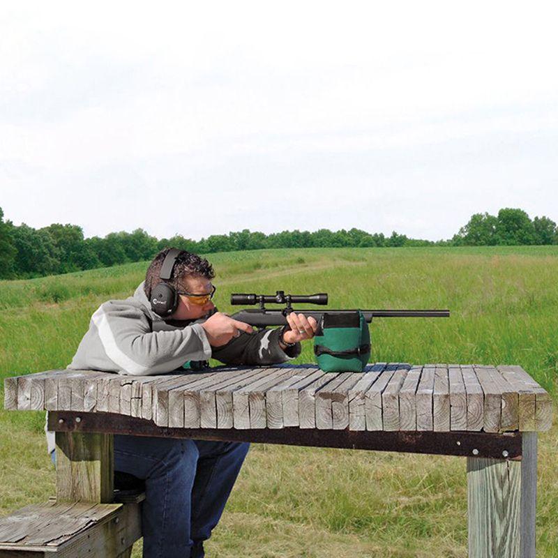 Tragbare Neue Schießen Hinten Gun Rest Tasche Set Vorne und Hinten Rifle Ziel Jagd Bank Ungefüllt Stehen Jagd Gun Zubehör