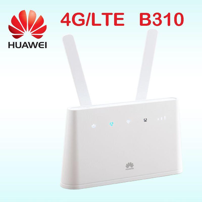 Huawei router 4g rj45 b310as-852 huawei lte router b310 lan auto hotspot sim karte mit antenne tragbare wifi 4g b310s-22 b310s