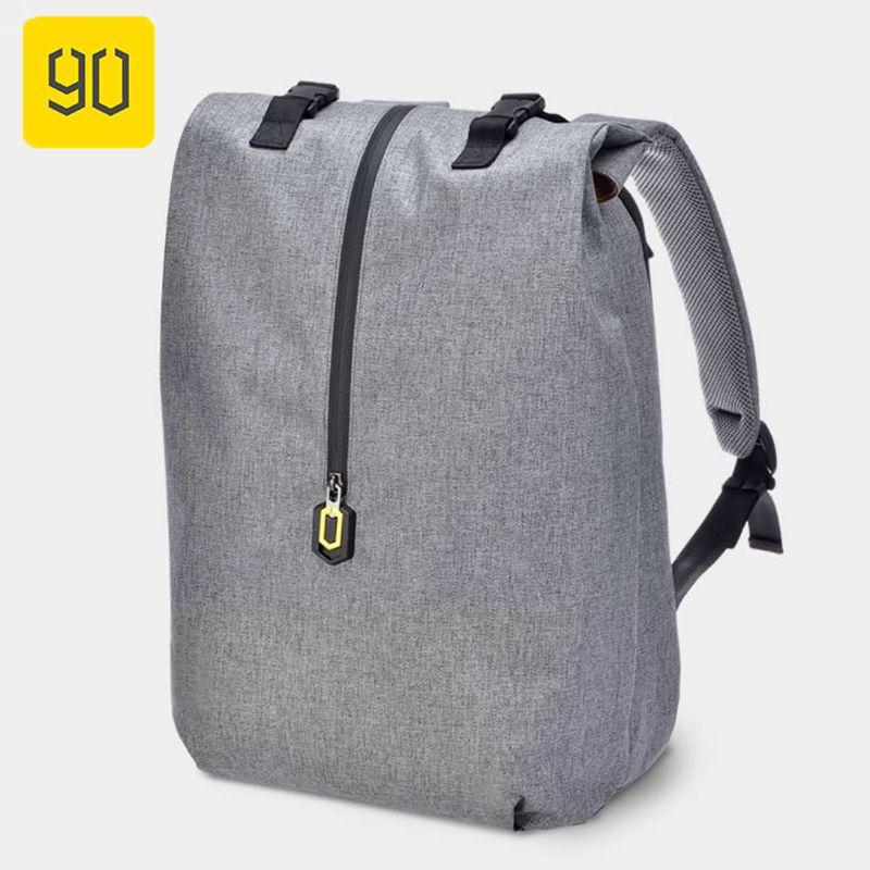 Xiaomi 90FUN Leisure Daypack Water Resistant Backpack For Men Women Campus Schoolbag Mochila Shoulder Bag for 14