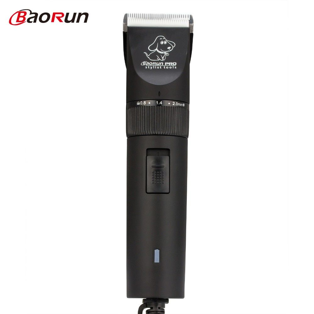 BaoRun Professional Pet Dog Clippers Hair Trimmer Animal Grooming Cat Cutters Dog Haircut Machine Shaver Electric Scissor Shaver