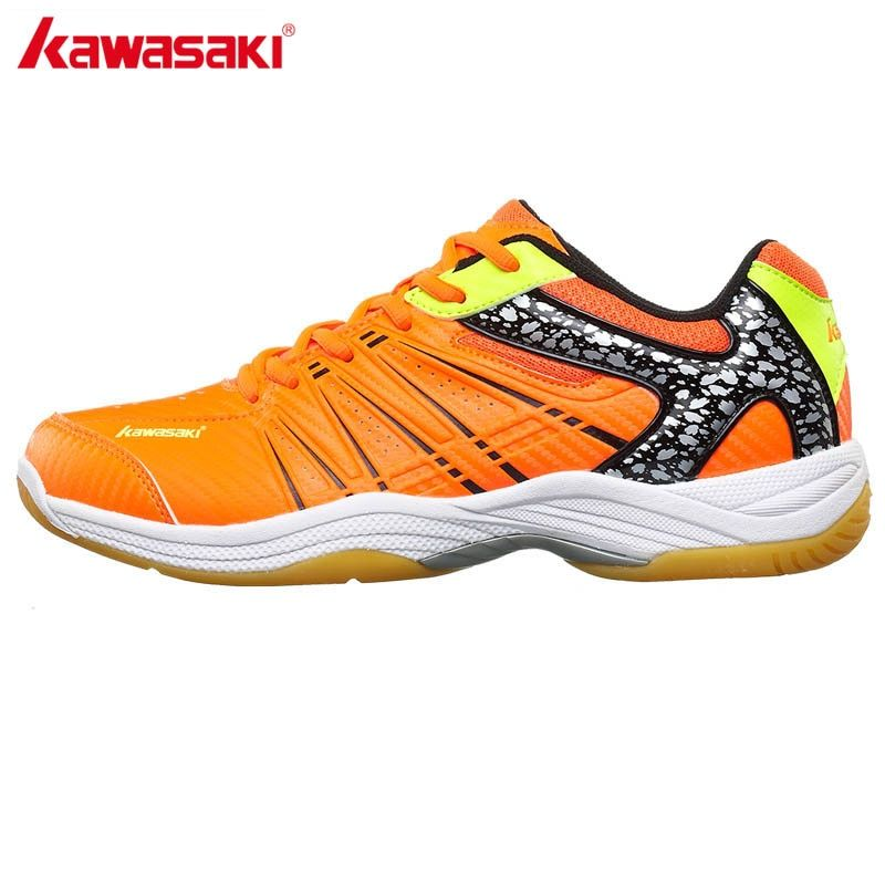Kawasaki Брендовые мужские Обувь для бадминтона профессиональный спорт Обувь для Для женщин дышащая закрытый суд Спортивная обувь k-061 062 063