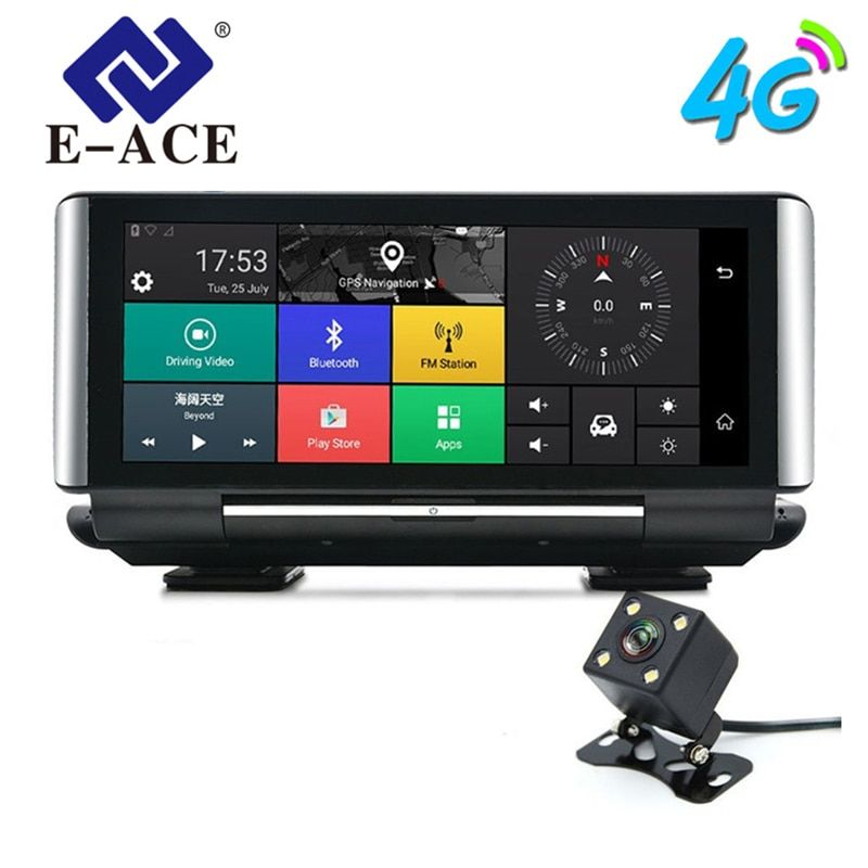 E-ACE E01 Auto DVR GPS 4G Navigation Tracker 7