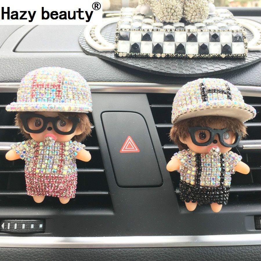 Hazy beauty Perfumes  New Kiki Outlet H Cap Baseball Cap Perfume Diamond Automotive Interior Automotive Supplies  Car Styling
