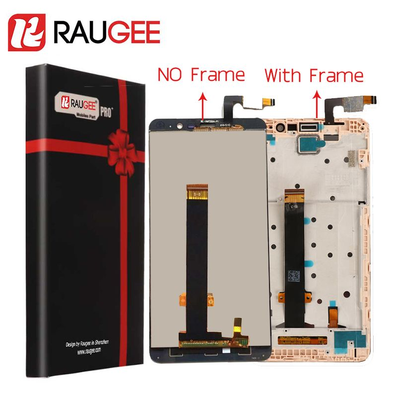 For <font><b>Xiaomi</b></font> Redmi Note 3 Pro LCD Screen+Touch Display with Soft-key Backlight/Middle Frame for Redmi Note 3/Prime 5.5''