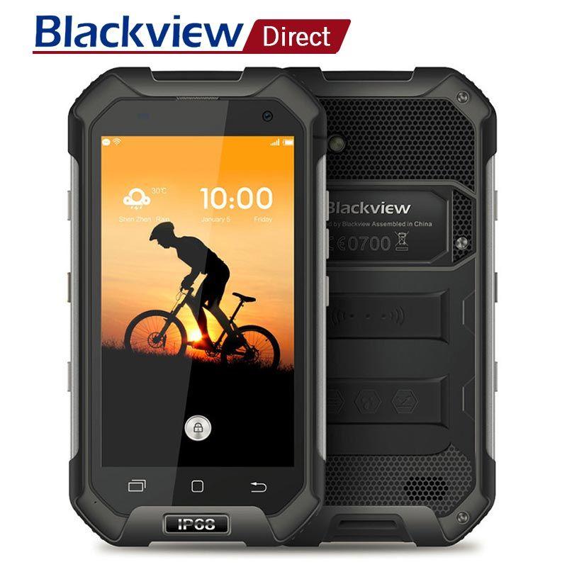 Blackview BV6000S IP68 Wasserdichte Smartphone 4,7 ''HD MT6735 Quad Core Android 6.0 2 gb RAM 16 gb ROM 4g LTE 8 MPMobile Handy