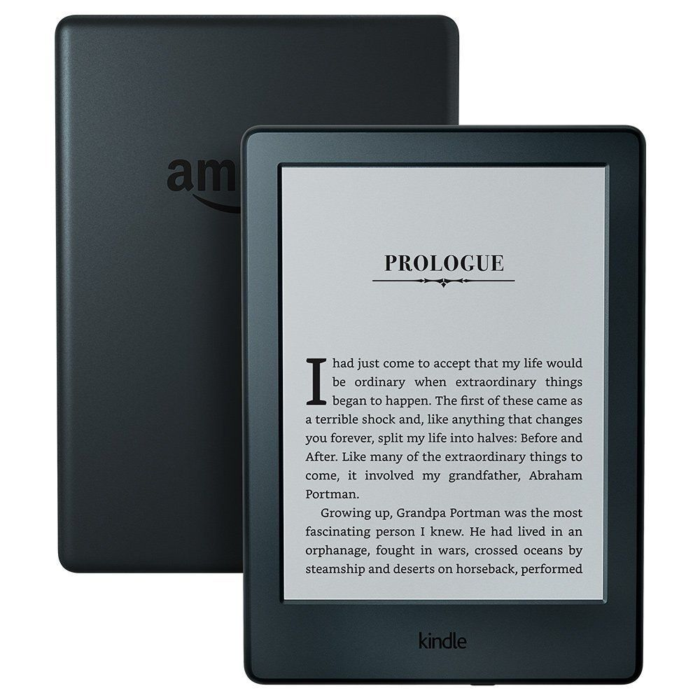 Kindle Black 2016 <font><b>version</b></font> Touchscreen Display, Exclusive Kindle Software, Wi-Fi 4GB eBook e-ink screen 6-inch e-Book Readers