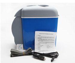 12 V 7.5L portátil mini calentamiento y enfriamiento del refrigerador del vehículo del coche frigorífico uso caliente y frío doble para el coche y el hogar