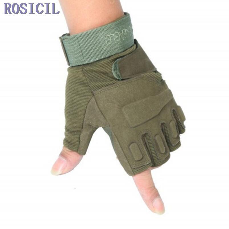 ROSICIL Taktische Handschuhe Armee Taktische Handschuhe Halbfinger Eldiven