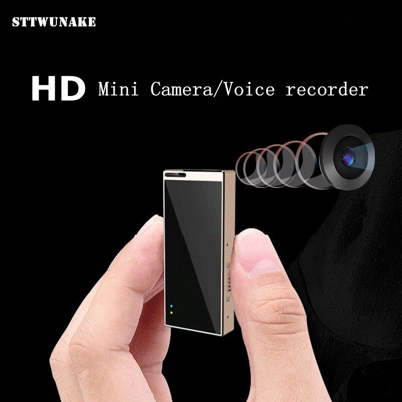 STTWUNAKE MINI camera DV hidden Professional Digital Voice Video recorder HD 720P Sport Camcorder 8G 16G 32G noise reduction